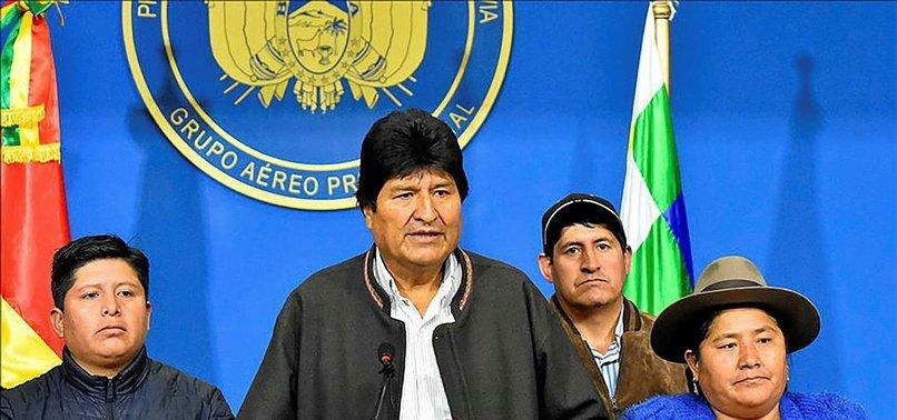 FORMER BOLIVIAN PRESIDENT EVO MORALES DIAGNOSED WITH CORONAVIRUS