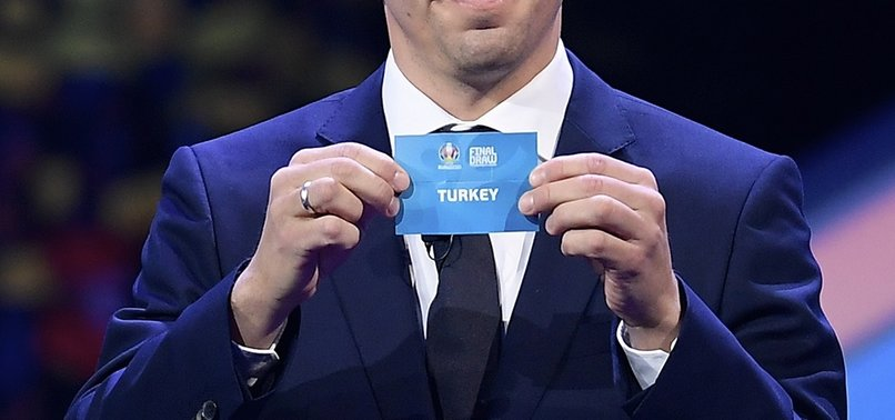 TURKEY DRAWN WITH ITALY, SWITZERLAND, WALES AT EURO 2020