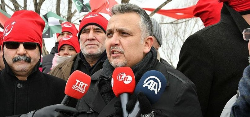 TURKISH MINORITY IN GREECES WESTERN THRACE REGION MARKS RESISTANCE DAY