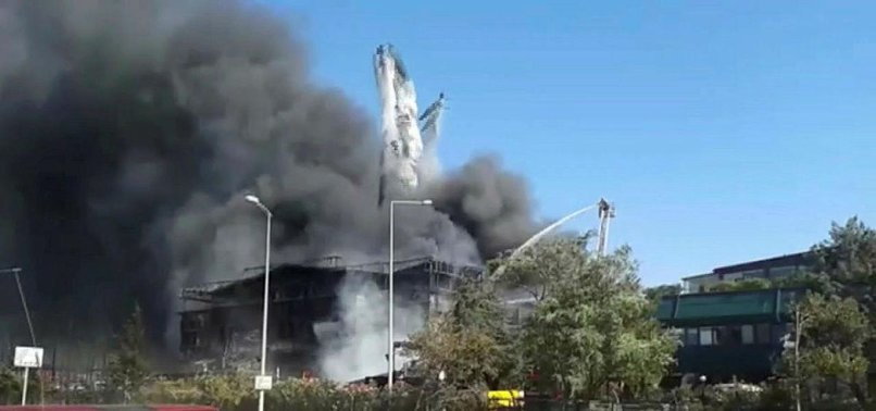 2 INJURED IN CHEMICALS FACTORY FIRE IN ISTANBUL