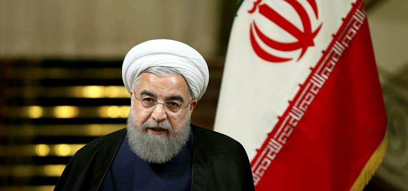 IRANS ROUHANI BLAMES US, SAUDI ARABIA FOR CONFLICT IN REGION