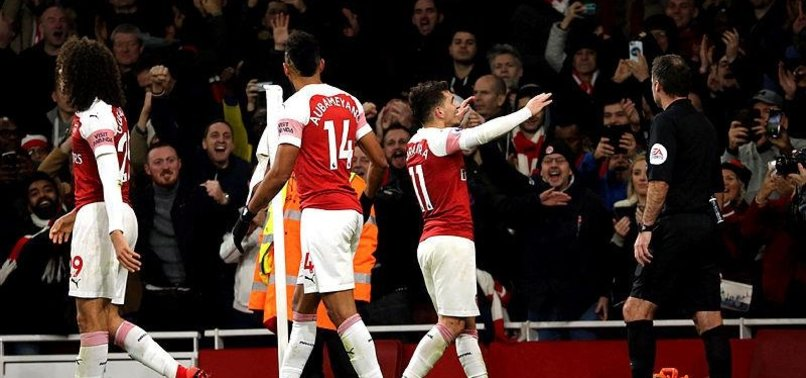 TORREIRAS LATE WINNER MOVES ARSENAL INTO THIRD