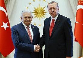 Cumhurbaşkanı Erdoğan ve Başbakan Yıldırım'dan Ankara'da sürpriz görüşme