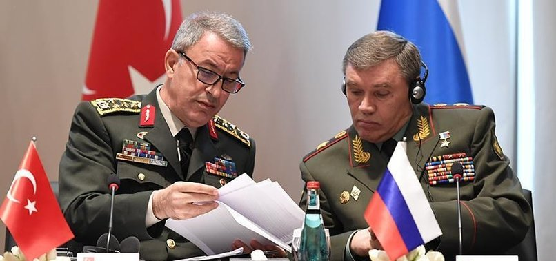 TURKISH CHIEF OF STAFF, INTELLIGENCE CHIEF HEAD TO RUSSIA FOR SYRIA TALKS