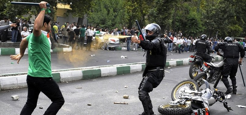 9 KILLED IN NATIONWIDE PROTESTS OVERNIGHT, IRANIAN STATE TV SAYS