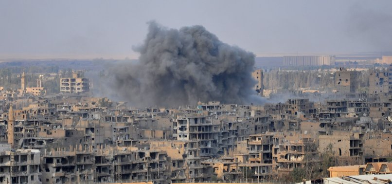 DOZENS KILLED AS ISRAEL LAUNCHES ATTACKS IN EASTERN SYRIA