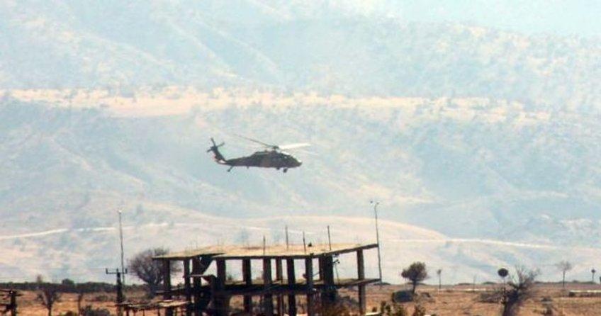 Cudi Dağı bölgesinde hava destekli PKK operasyonu