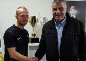 Daniel Larsson, Akhisar Belediyespor'a transfer oldu.