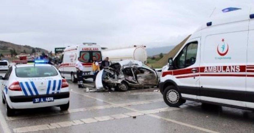 Kastamonu'da feci kaza! 3 ölü