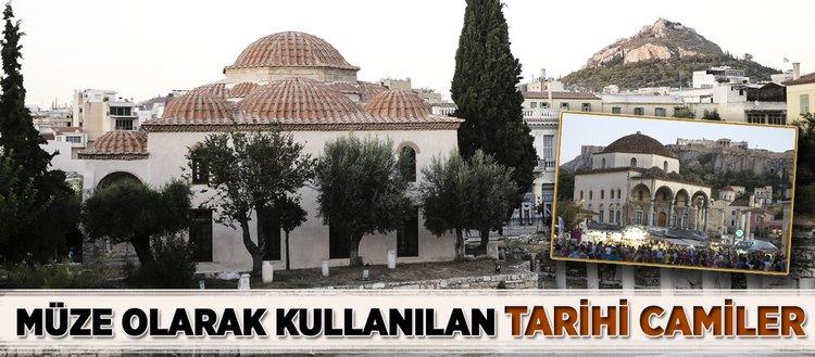 Osmanlı dönemine ait tarihi camiler müze olarak kullanılıyor