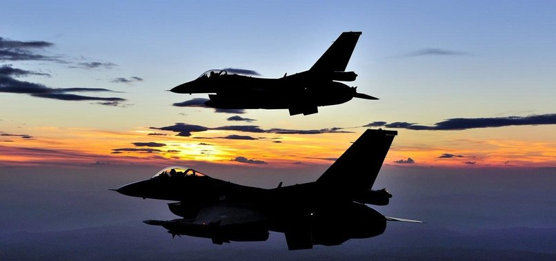 TURKISH JETS NEUTRALIZE 5 PKK TERRORISTS IN N. IRAQ