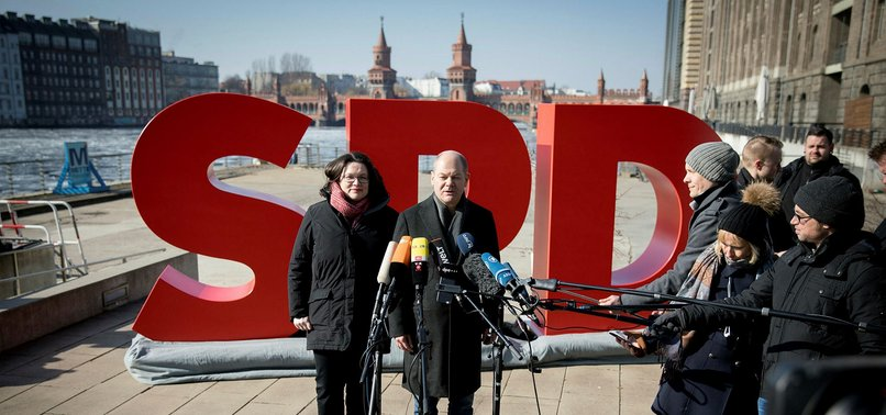 GERMANYS SPD CLEARS WAY FOR NEW COALITION UNDER MERKEL