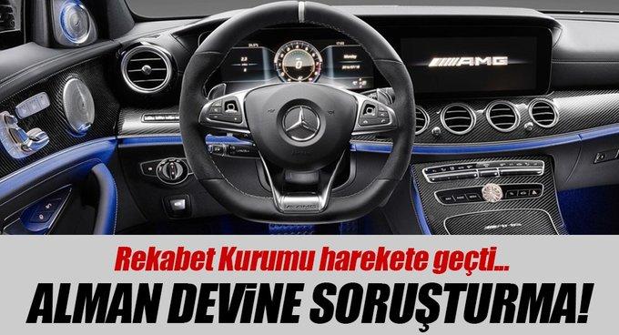 Rekabet Kurumu Mercedes-Benz Türke soruşturma açtı
