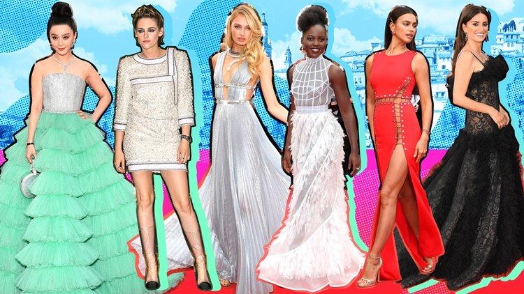 Tüm zamanların en unutulmaz Cannes elbiseleri