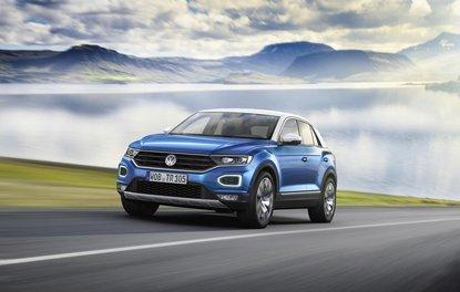 Volkswagen'in yeni kompakt crossover modeli T-Roc tanıtıldı