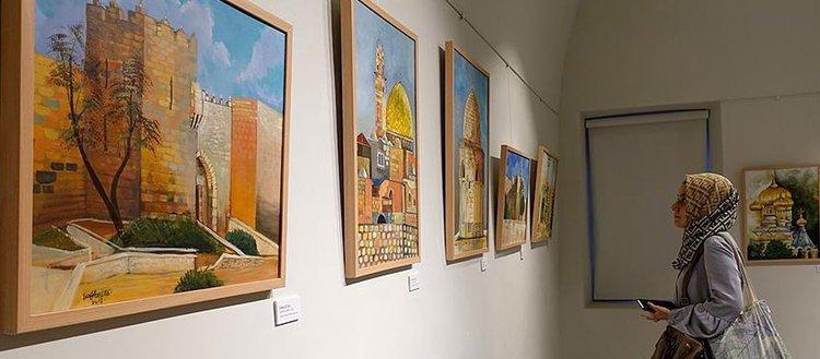 Kudüs Renkleri sergisi açıldı