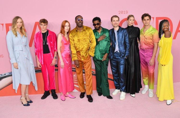 CFDA Moda Ödülleri'nde kırmızı halı şıklığı