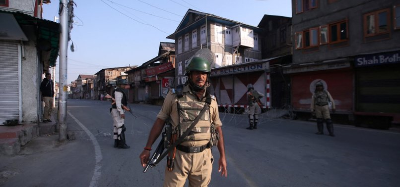 INDIA TOUGHENS UP KASHMIR RESTRICTIONS AFTER PROTEST CALL