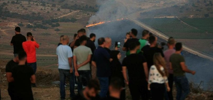 US CONCERNED BY RISING TENSIONS ON ISRAEL/LEBANON BORDER