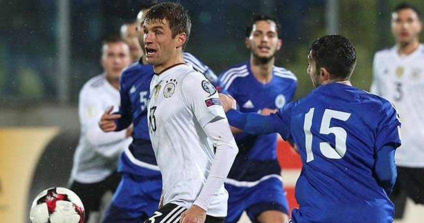 Müller'e San Marino'dan olay cevap!