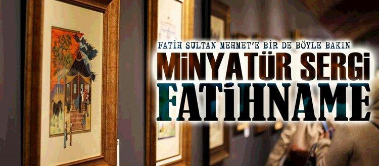 Minyatür sergi Fatihname