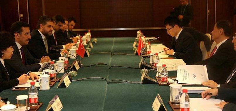TURKEY, CHINA DISCUSS BILATERAL ECONOMIC COOPERATION