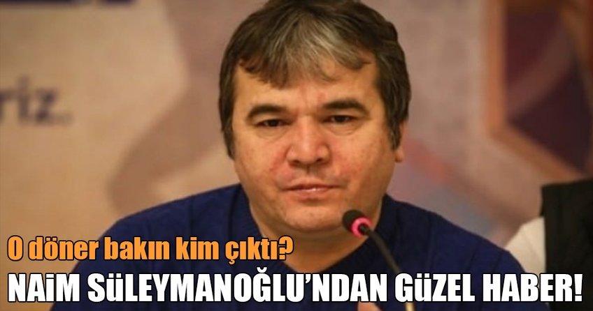Naim Süleymanoğlu'ndan güzel haber!