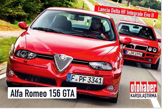 KARŞILAŞTIRMA ·Alfa Romeo 156 GTA, Lancia Delta HF Integrale Evo II