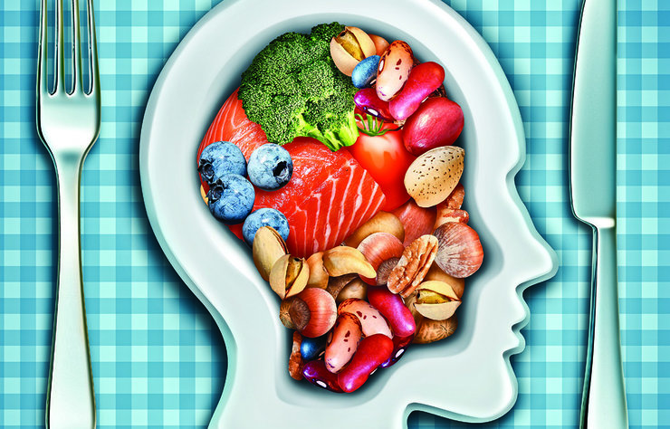 Tüm vücudu ve zihin faaliyetlerimizi yöneten beyin adeta bir orkestra şefidir. Bu orkestra şefine iyi bakmak için yediklerinize önem verin.