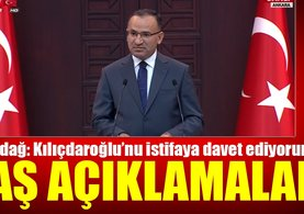 Bozdağ'dan Kılıçdaroğlu'na istifa çağrısı
