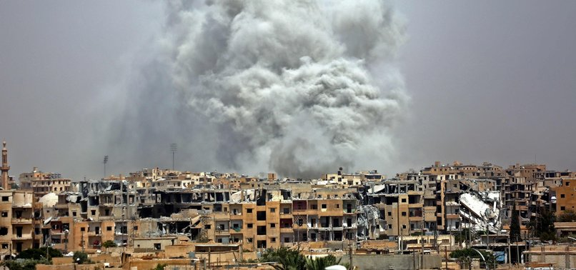 US-LED 2017 BLITZ ON SYRIAS RAQA KILLED 1,600 CIVILIANS: REPORT