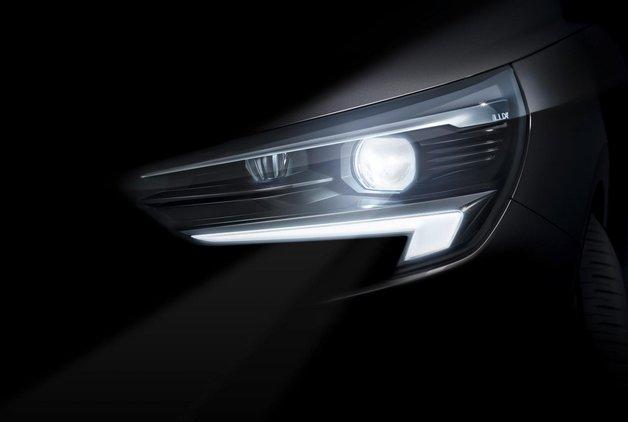 Yeni Opel Corsa için ilk resmi ipucu