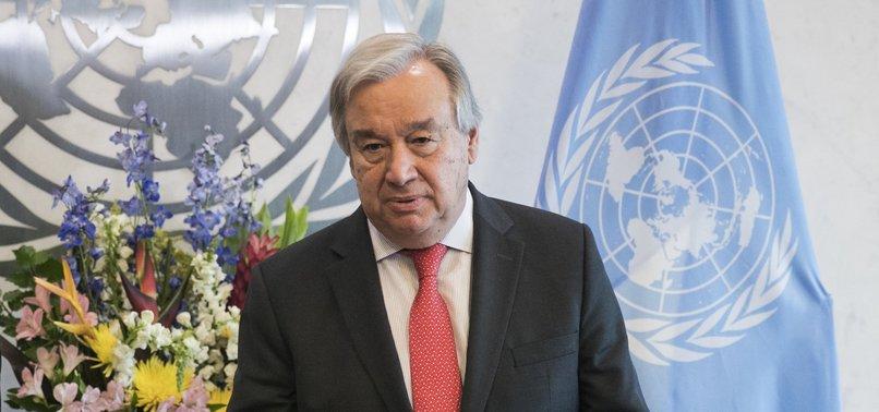 UN CHIEF CALLS FOR DIALOGUE AMID KASHMIR TENSIONS