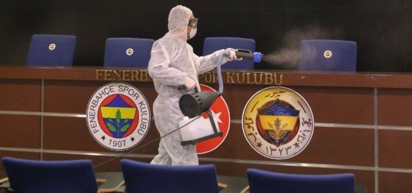 FENERBAHÇE PLAYERS SENT TO HOSPITAL FOR CORONAVIRUS TESTS