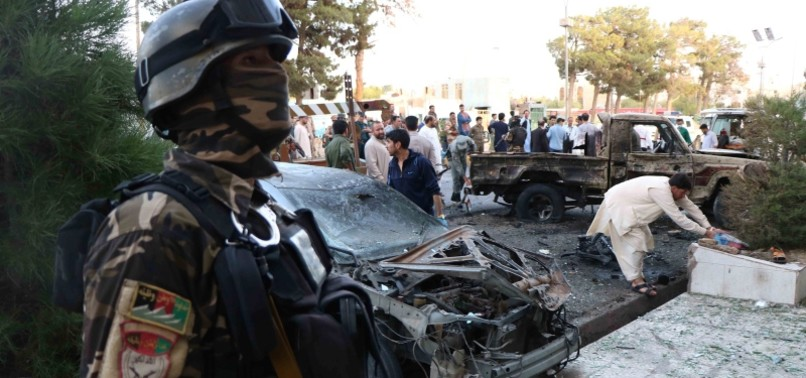 AT LEAST 20 DEAD AFTER A STRING OF TALIBAN ATTACKS IN AFGHANISTAN