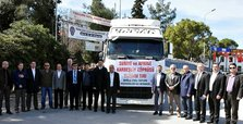 Turkish agency sends 15,000 aid trucks to Syria