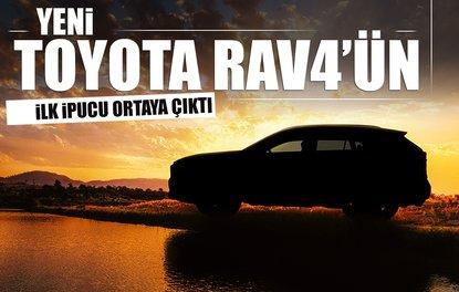 Yeni Toyota RAV4'ün ilk ipucu ortaya çıktı