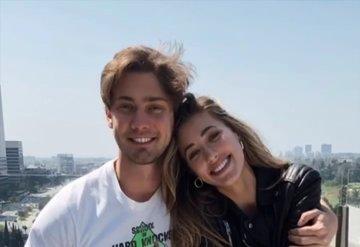 Jessica Michel Serfaty ve Kaan Günay'ın mutluluk pozu