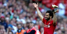 Salah tops Ronaldo this season, says Liverpool's Rush