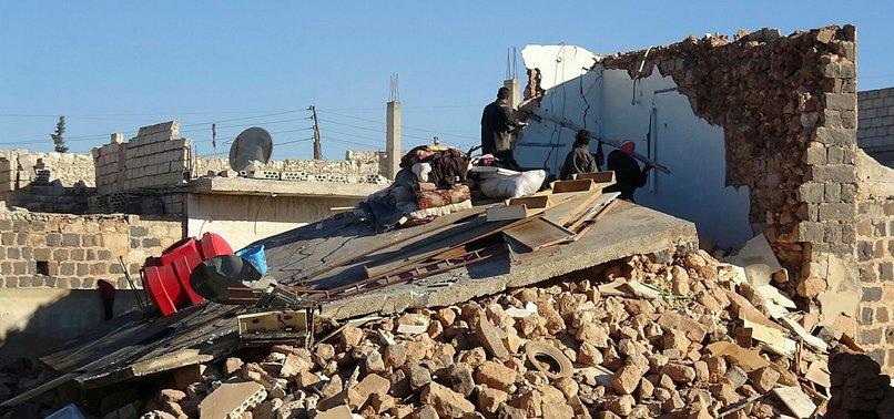 REGIME, RUSSIAN WARPLANES HIT SYRIA'S IDLIB, KILLING 22