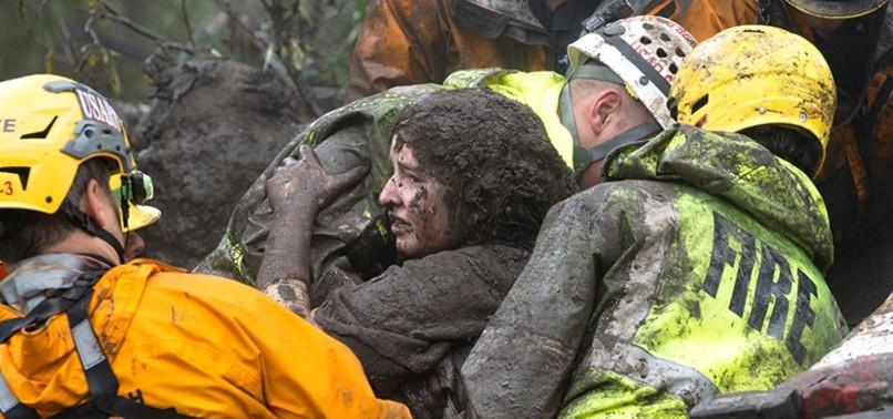 13 DEAD, DOZENS INJURED AS HEAVY RAIN TRIGGERS MUDSLIDES IN S. CALIFORNIA