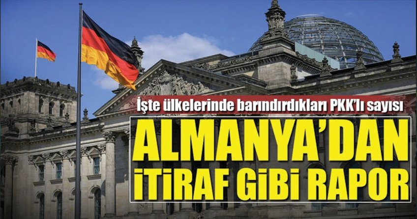 Almanya'dan itiraf gibi PKK raporu
