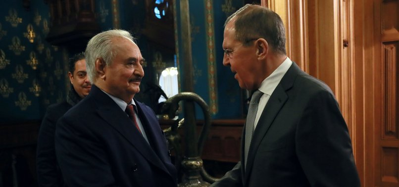 LIBYA'S RIVAL LEADERS LEAVE MOSCOW, NO PEACE DEAL SIGNED