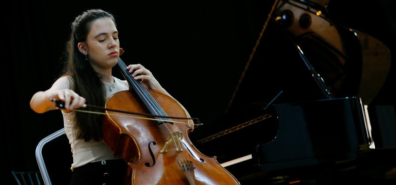 YOUNG TURKISH CELLIST BAGS FIRST IN WORLD CONTESTS