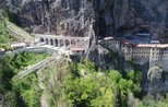 Sumela Monastery put into service after 5-year restoration