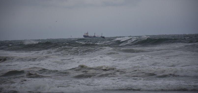 RUSSIAN-FLAGGED SHIP SINKS OFF BLACK SEA COAST IN TURKEY
