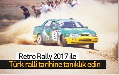 Retro Rally 2017 ile Türk ralli tarihine tanıklık edin
