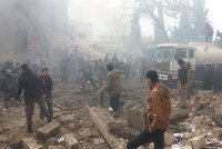 At least 60 people were killed and dozens of others were injured in a car bomb attack that targeted a local court in northern Syrian town of Azaz near the border with Turkey on Saturday.  The...