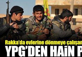 YPG'den Rakka'da hain plan!