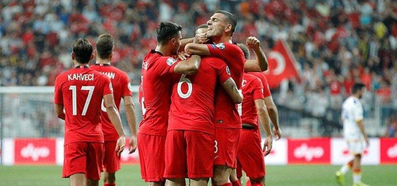 TURKEY BEAT ANDORRA 1-0 IN EURO 2020 QUALS